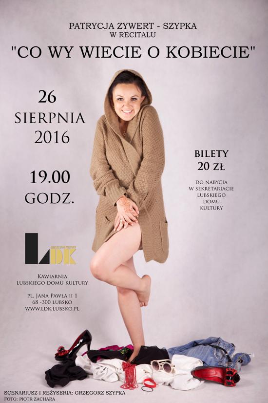 Ilustracja do informacji: Recital Patrycji Zywert - Szypki.
