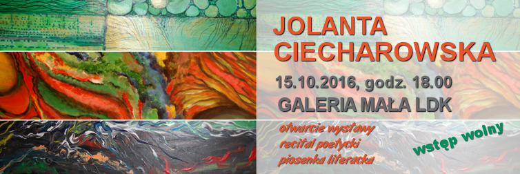 Ilustracja do informacji: JOLANTA CIECHAROWSKA