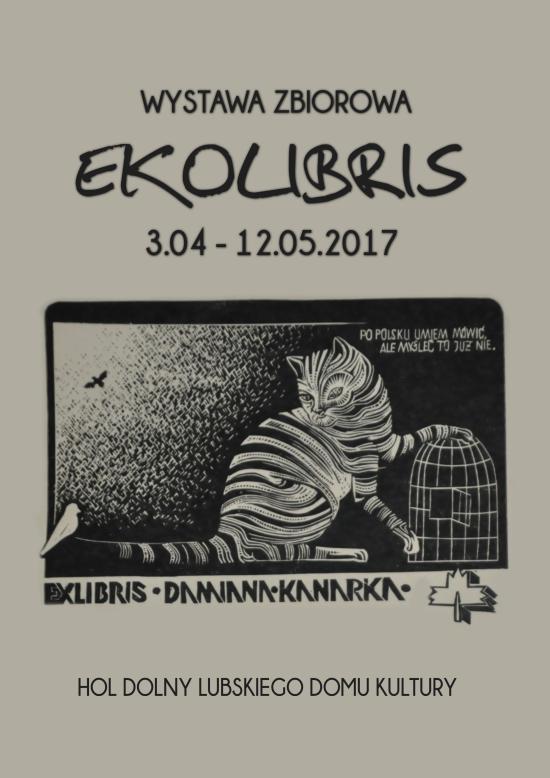 Ilustracja do informacji: Ekolibris - wystawa zbiorowa