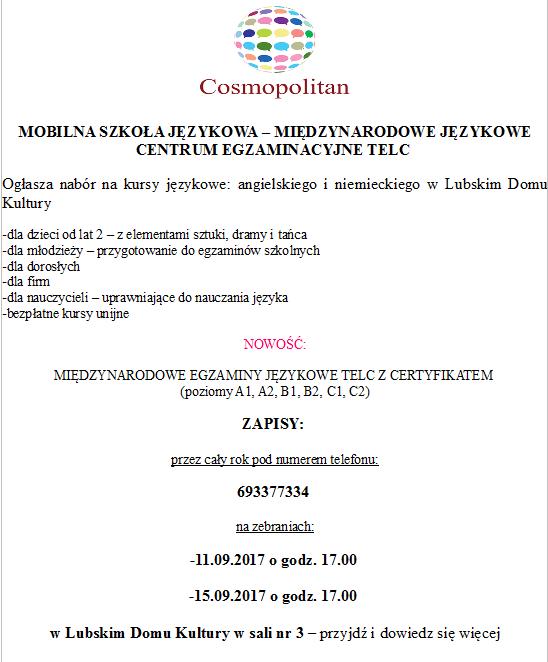 Ilustracja do informacji: Mobilna Szkoła Językowa ogłasza nabór