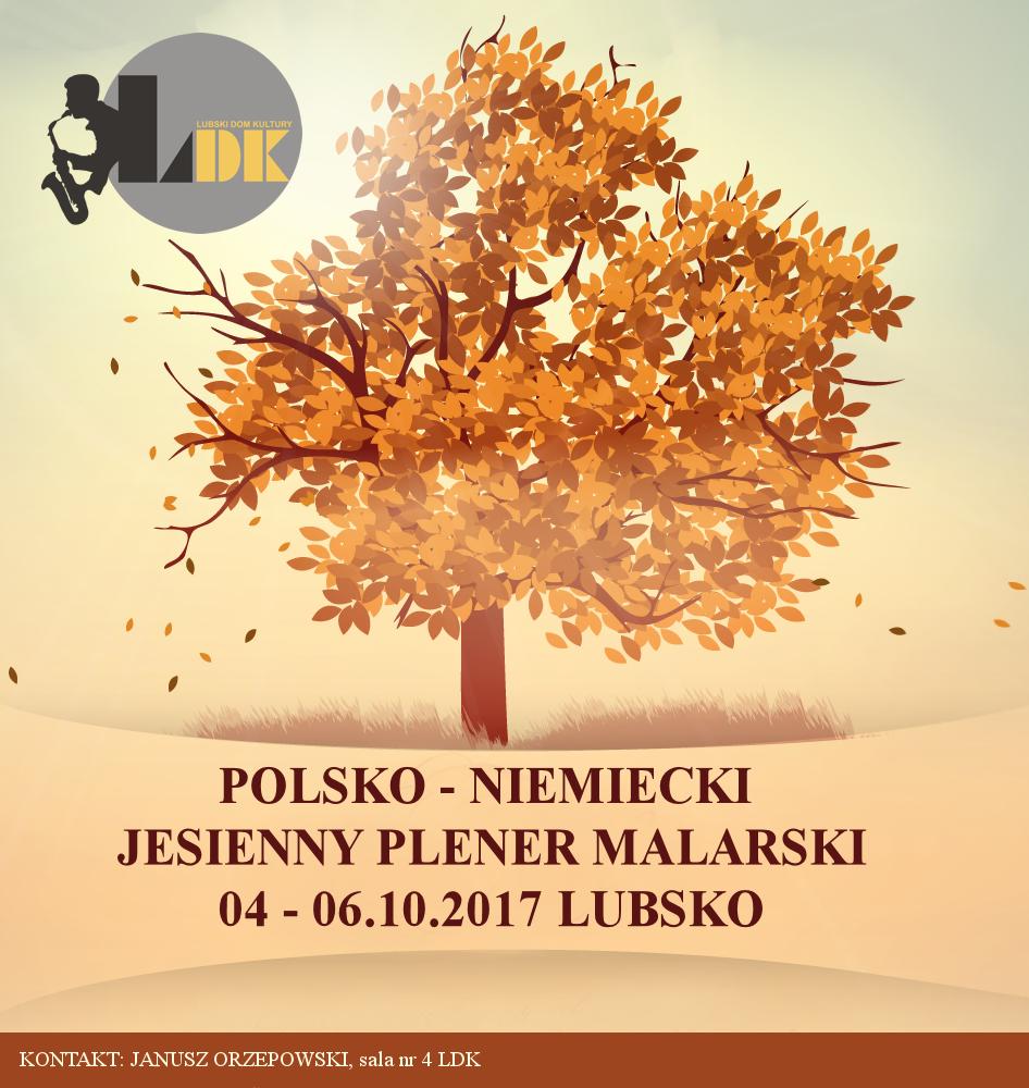 Ilustracja do informacji: Polsko - Niemiecki Jesienny Plener Malarski