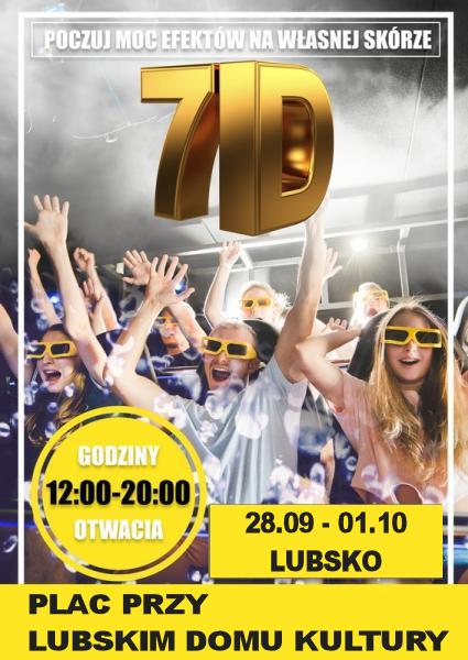Ilustracja do informacji: Mobilne Kino 7D