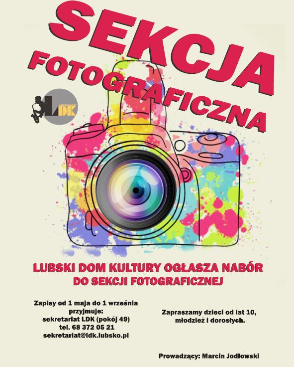 Ilustracja do informacji: Sekcja fotograficzna - NABÓR !