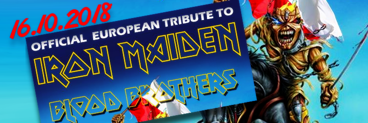 Ilustracja do informacji: OFFICIAL EUROPEAN TRIBUTE TO IRON MAIDEN - BLOOD BROTHERS