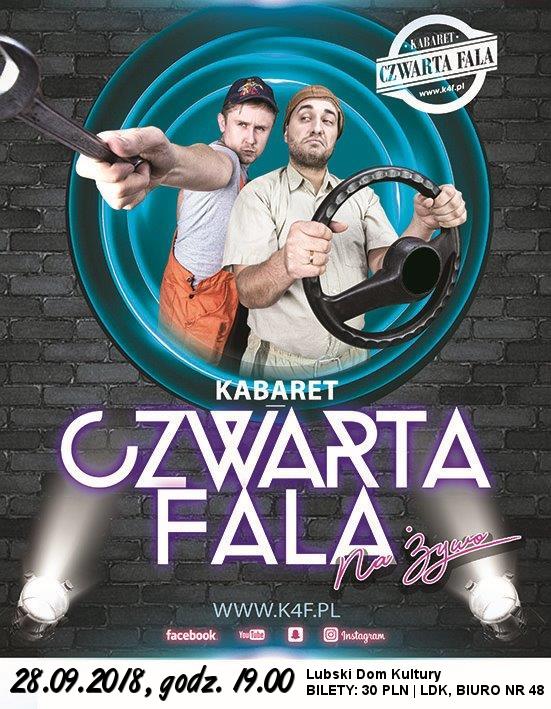 Ilustracja do informacji: Kabaret Czwarta Fala zaprasza