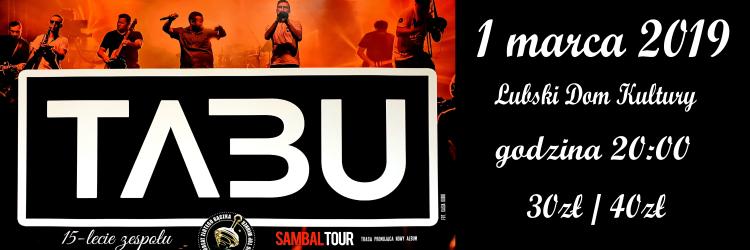 Ilustracja do informacji: Koncert TABU
