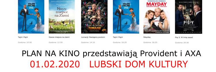 Ilustracja do informacji: Kino w Lubsku