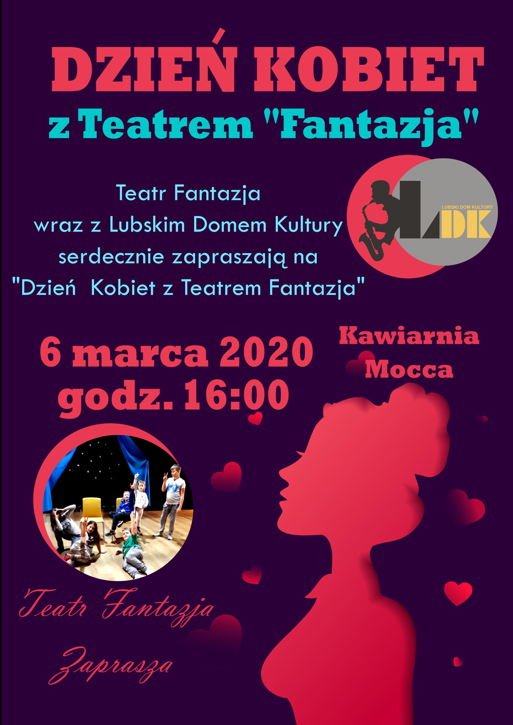 Ilustracja do informacji: Dzień kobiet z teatrem Fantazja
