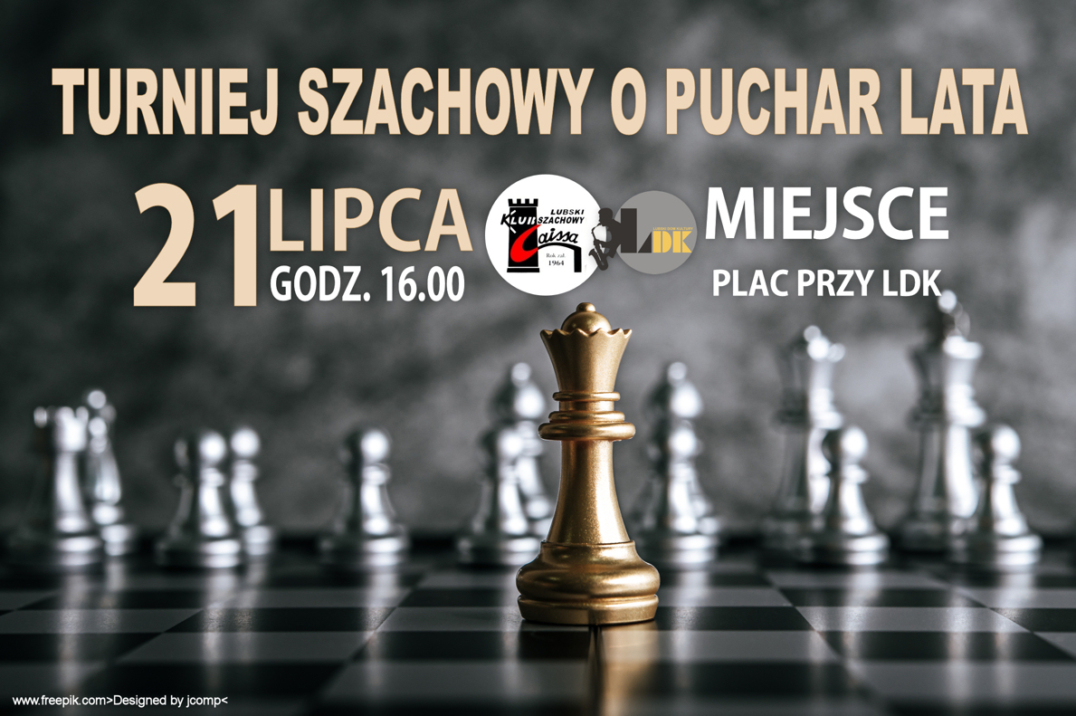 Ilustracja do informacji: Turniej Szachowy o Puchar Lata