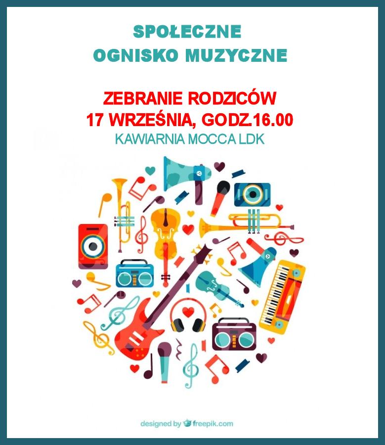 Ilustracja do informacji: Społeczne Ognisko Muzyczne
