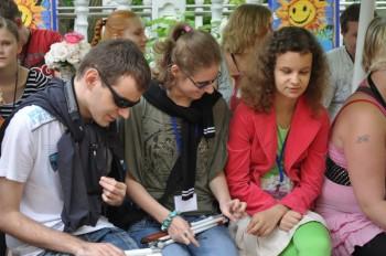 Miniatura zdjęcia: 4.07.2012r. XX Jubileuszowe Prezentacje Wokalne Dzieci i Młodzieży Specjalnej Troski_DSC_0014.jpg