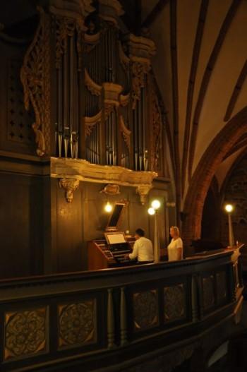 Miniatura zdjęcia: 23.08.2015 - 17 Festiwal Muzyki Kameralnej i Organowej - Lubsko_DSC_0327.jpg