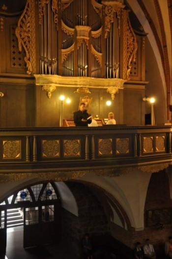 Miniatura zdjęcia: 23.08.2015 - 17 Festiwal Muzyki Kameralnej i Organowej - Lubsko_DSC_0333.jpg