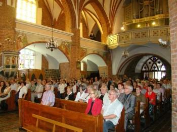 Miniatura zdjęcia: 28.08.2011 XIII MIĘDZYNARODOWY FESTIWAL MUZYKI KAMERALNEJ I ORGANOWEJ – LUBSKO 2011.Koncert fi