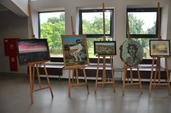 Miniatura zdjęcia: 25.07.2015 Wystawa prac artystów z Lubska i Forst pn. Tożsamość ?_DSC_0023.jpg