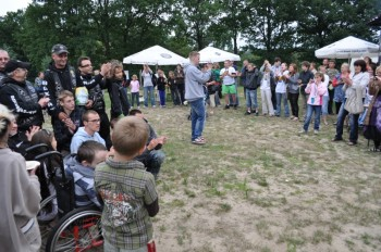 Miniatura zdjęcia: 30.06.2011r. Dzieci Europy- Europakinder PIKNIK MOTOCYKLOWY W JEZIORACH WYSOKICH (dzień 3)_fest.484.
