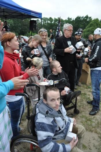 Miniatura zdjęcia: 30.06.2011r. Dzieci Europy- Europakinder PIKNIK MOTOCYKLOWY W JEZIORACH WYSOKICH (dzień 3)_fest.516.