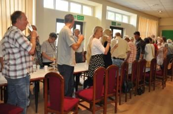 Miniatura zdjęcia: 25.07.2015 Wystawa prac artystów z Lubska i Forst pn. Tożsamość ?_DSC_0051.jpg