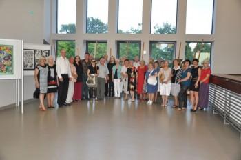 Miniatura zdjęcia: 25.07.2015 Wystawa prac artystów z Lubska i Forst pn. Tożsamość ?_DSC_0077.jpg