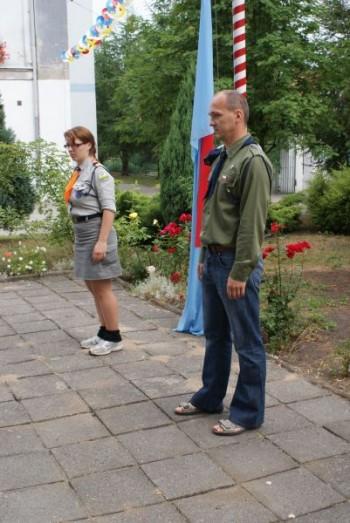 Miniatura zdjęcia: 01.07.2010r. Dzieci Europy-apel [fot.I.Kulczyk]_DSC04830.JPG