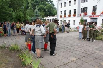Miniatura zdjęcia: 01.07.2010r. Dzieci Europy-apel [fot.I.Kulczyk]_DSC04831.JPG