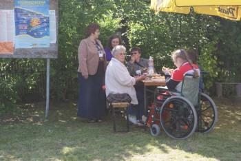 """Miniatura zdjęcia: 27.05.2009r. Biesiada w Rodzinnym Ogródku Działkowym """"Jutrzenka""""[foto:I.Kulczyk]_DSC09526.JPG"""