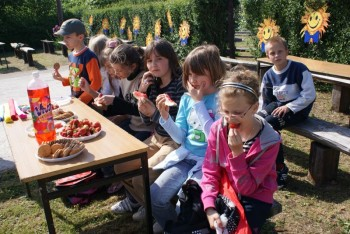 """Miniatura zdjęcia: 27.05.2009r. Biesiada w Rodzinnym Ogródku Działkowym """"Jutrzenka""""[foto:I.Kulczyk]_DSC09535.JPG"""