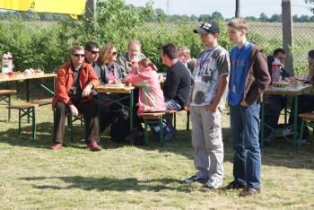 """Miniatura zdjęcia: 27.05.2009r. Biesiada w Rodzinnym Ogródku Działkowym """"Jutrzenka""""[foto:I.Kulczyk]_DSC09537.JPG"""
