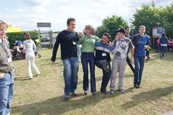 """Miniatura zdjęcia: 27.05.2009r. Biesiada w Rodzinnym Ogródku Działkowym """"Jutrzenka""""[foto:I.Kulczyk]_DSC09660.JPG"""