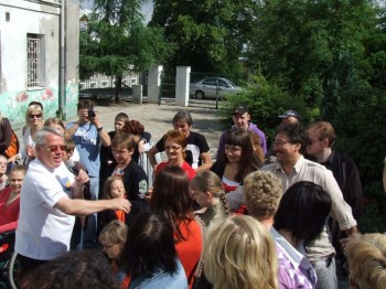 Miniatura zdjęcia: 05.07.08 Pożeganie uczestników festiwalu Dzieci Europy-Europakinder_pozegnanie086.JPG