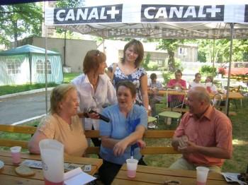Miniatura zdjęcia: 01.07.08 Uczestnicy festiwalu Dzieci Europy-Europakinder w Domu Pomocy Społecznej w Lubsku_dps0811.j