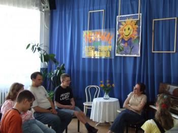 Miniatura zdjęcia: 02.07.08 Warsztaty artystyczne, Dzieci Europy-Europakinder_dz21.JPG
