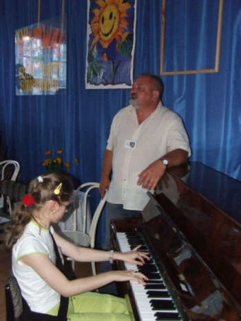 Miniatura zdjęcia: 02.07.08 Warsztaty artystyczne, Dzieci Europy-Europakinder_dz26.JPG