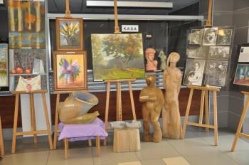 Miniatura zdjęcia: 24.01.2015 Spotkanie lubskich artystów z gośćmi z Forst_DSC_0011.jpg