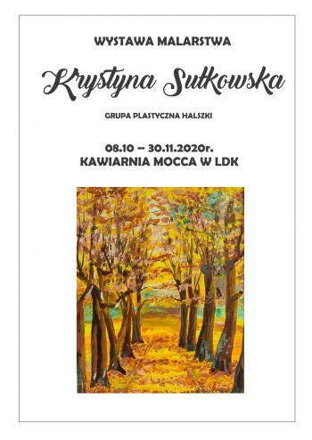 Miniatura zdjęcia: Wystawa malarstwa Krystyny Sułkowskiej - 8s