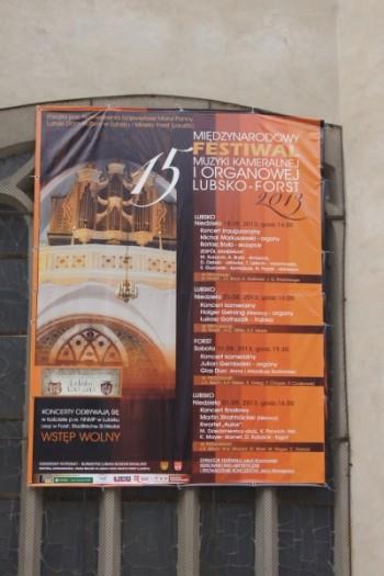 Miniatura zdjęcia: 18.09.2013r. 15 Międzynarodowy Festiwal Muzyki Kameralnej i Organowej Lubsko_DSC07566.JPG